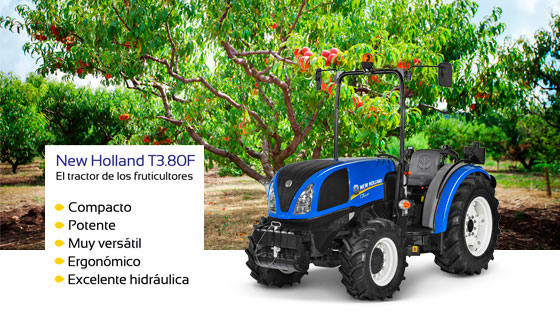 New Holland t380f