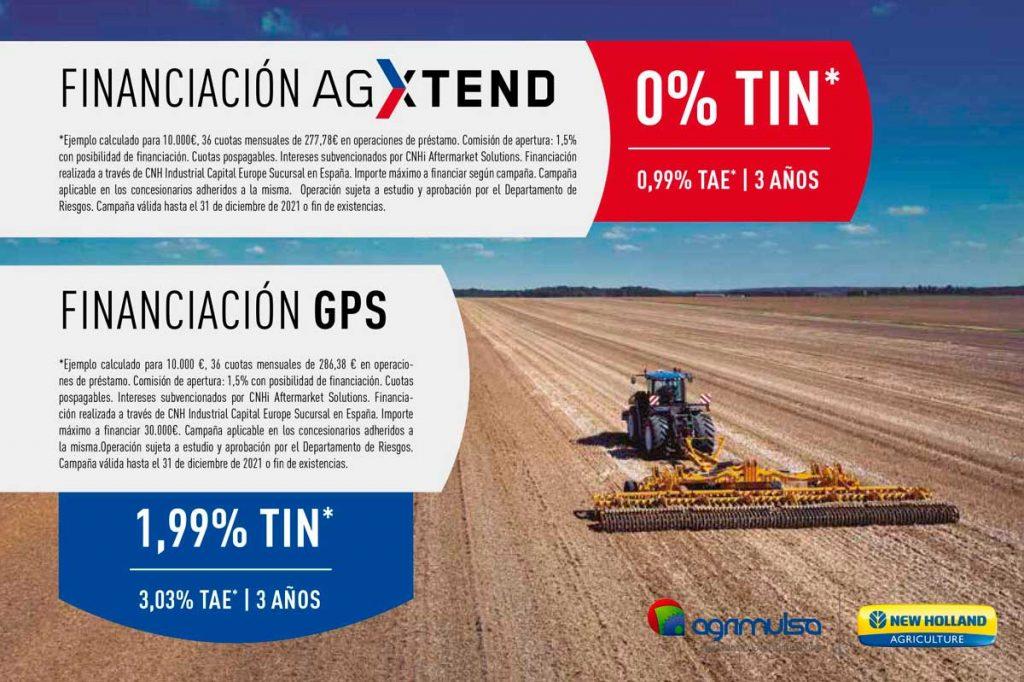 Financiacion AGXtend y GPS